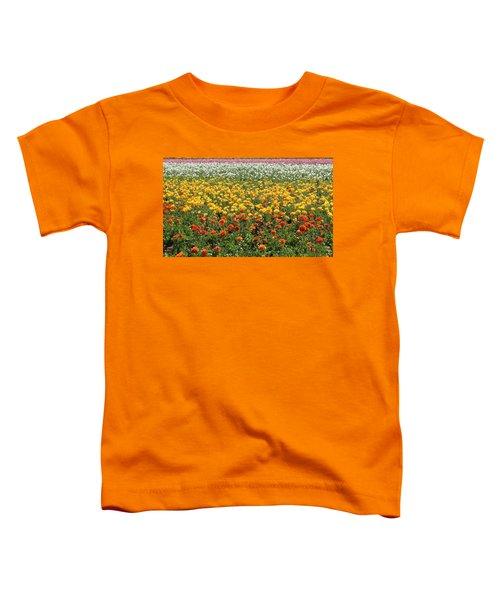 Flower Blanket From Carlsbad Toddler T-Shirt