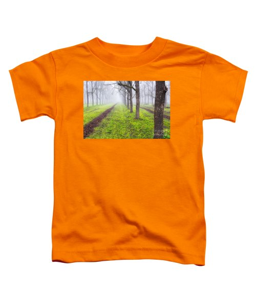 Fog And Orchard Toddler T-Shirt