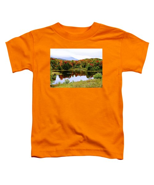 Foggy Day In Vermont Toddler T-Shirt