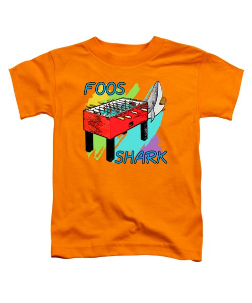 Foos Shark Toddler T-Shirt by David G Paul