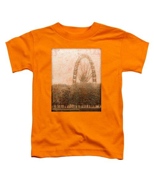 Paris, France - Forest Wheel Toddler T-Shirt
