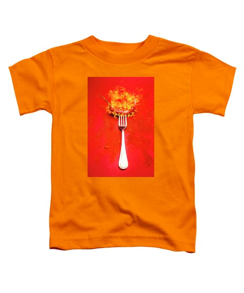 Forking Hot Food Toddler T-Shirt