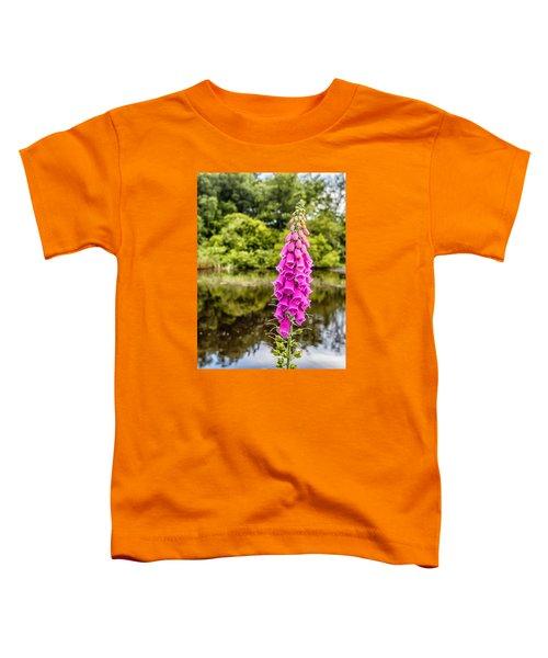 Foxglove In Flower Toddler T-Shirt