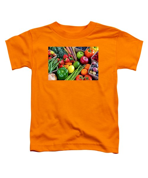 Fresh From The Farm Toddler T-Shirt