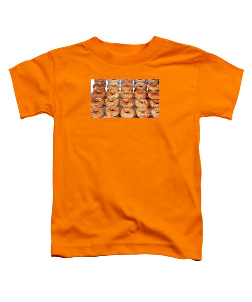 Fresh Frosted Doughnuts On Sale Toddler T-Shirt