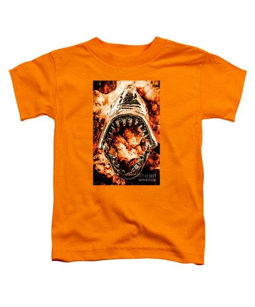 Frightening Marine Scene Toddler T-Shirt