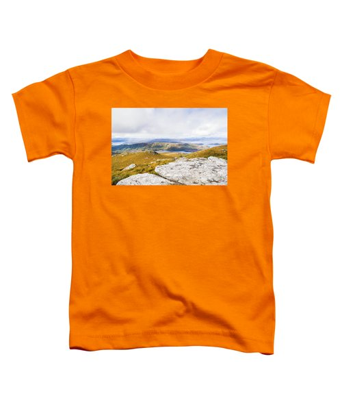From Mountains To Lakes Toddler T-Shirt