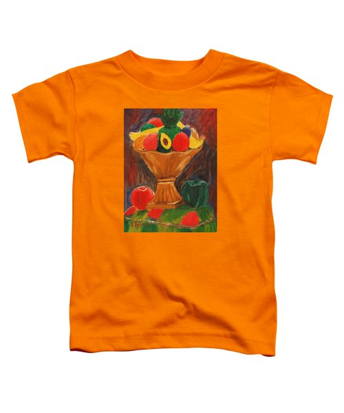 Fruits Still Life Toddler T-Shirt