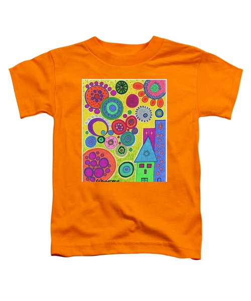 Funky Universe Toddler T-Shirt
