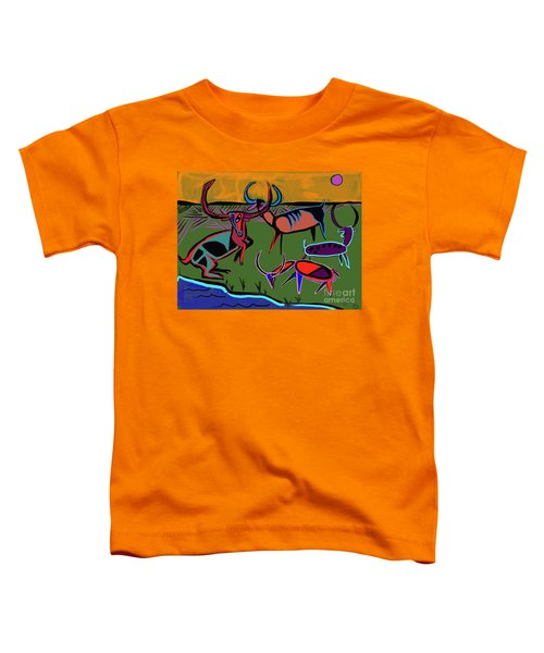 Gathering Herd Toddler T-Shirt