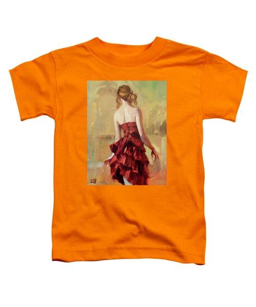 Girl In A Copper Dress II Toddler T-Shirt