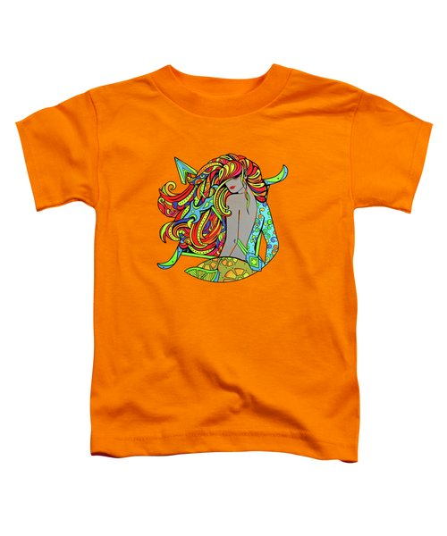 Girl Sagittarius Zodiac Toddler T-Shirt