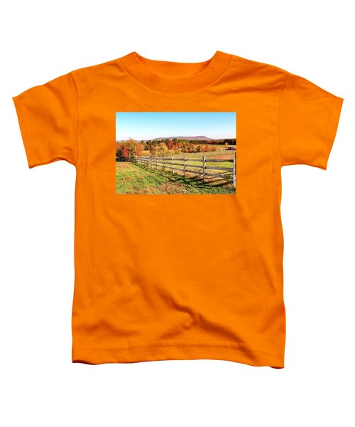 Glendale Road View In The Fall Toddler T-Shirt