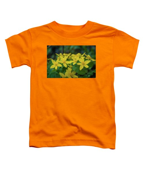 Toddler T-Shirt featuring the photograph Gold In The Marsh by Bill Pevlor