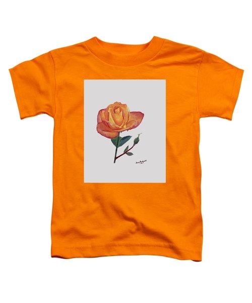 Gold Medal Rose Toddler T-Shirt
