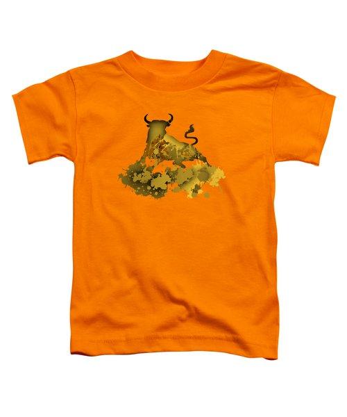 Golden Bull Toddler T-Shirt