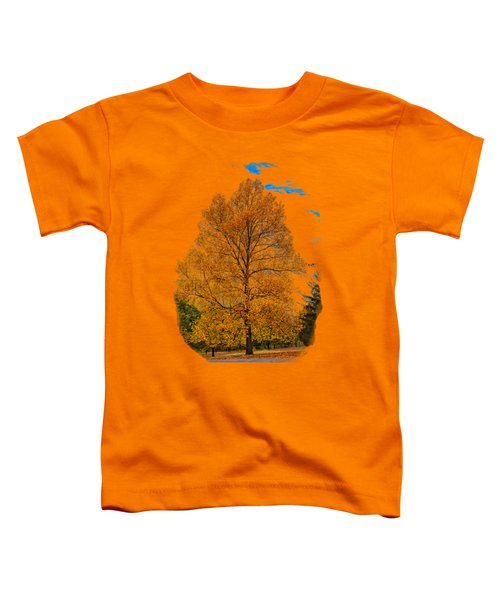 Golden Fall Colors 2 Toddler T-Shirt