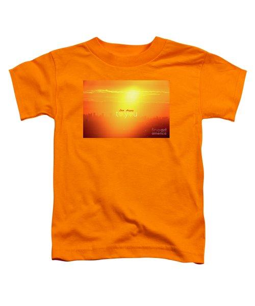 To You #002 Toddler T-Shirt by Tatsuya Atarashi