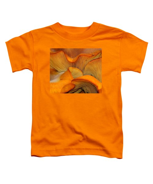 Golden Mushroom Abstract Toddler T-Shirt