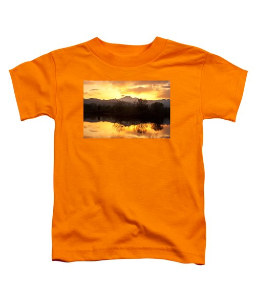 Golden Ponds Longmont Colorado Toddler T-Shirt by James BO  Insogna