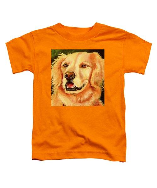 Golden Retriever Sweet As Sugar Toddler T-Shirt