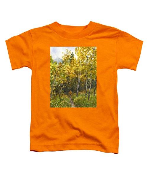 Golden Solitude Toddler T-Shirt