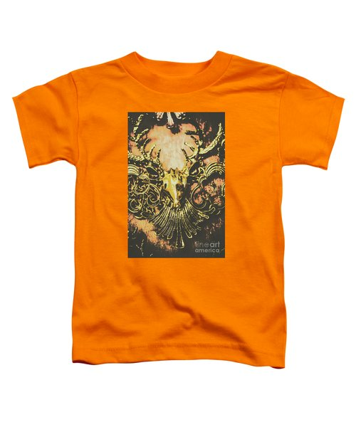Golden Stag Toddler T-Shirt
