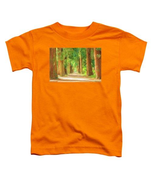 Golden Tree Avenue 3 Toddler T-Shirt