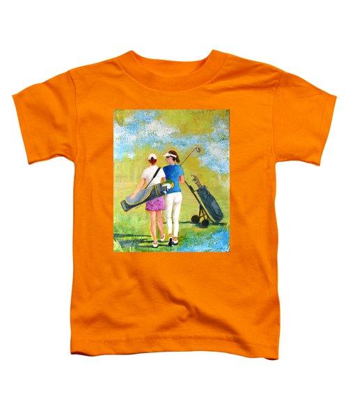 Golf Buddies #1 Toddler T-Shirt