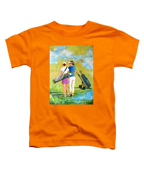 Golf Buddies #1 Toddler T-Shirt