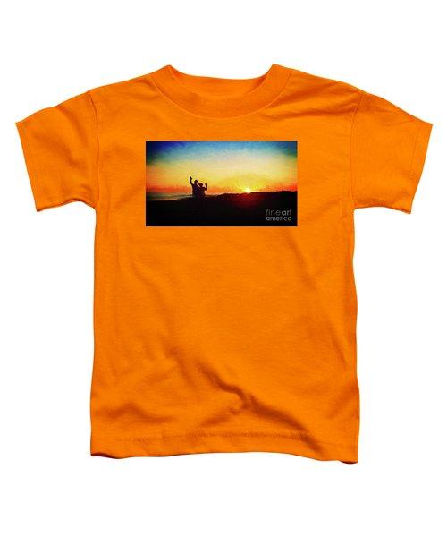 Goodnight Mr. Sun  Toddler T-Shirt