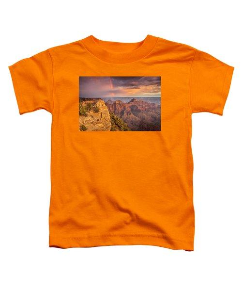 Grand Canyon North Rim Rainbow Toddler T-Shirt