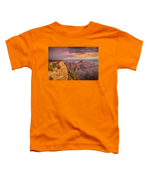 Grand Canyon North Rim Rainbow Toddler T-Shirt