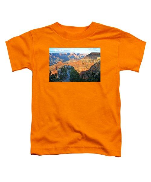 Grand Canyon South Rim At Sunset Toddler T-Shirt