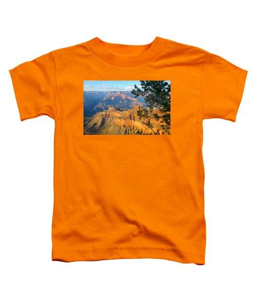 Grand Canyon South Rim - Pine At Right Toddler T-Shirt