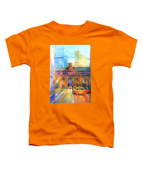 Grand Central Before Six, Driver Toddler T-Shirt