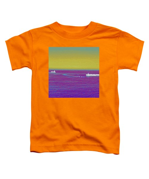Purple Sea Toddler T-Shirt