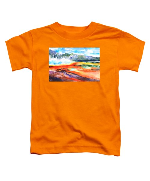 Grand Prismatic Hot Spring Toddler T-Shirt