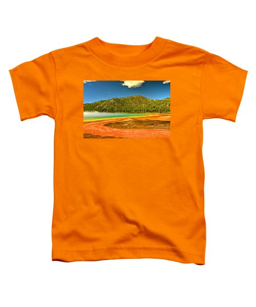 Grand Prismatic Spring Toddler T-Shirt