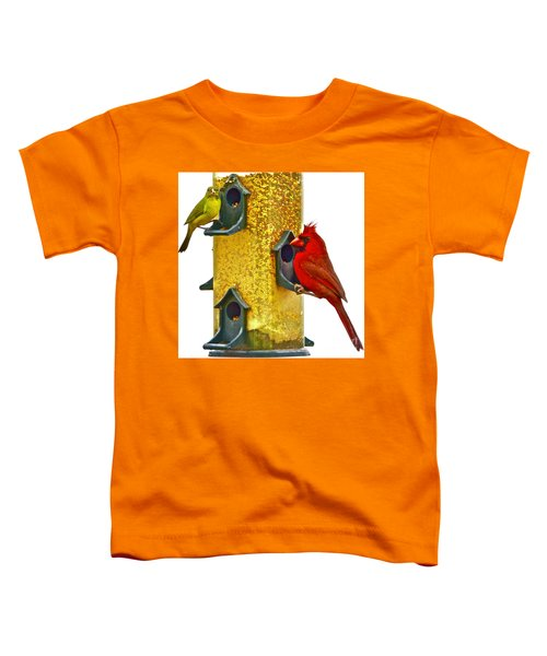 Green And Red  Toddler T-Shirt