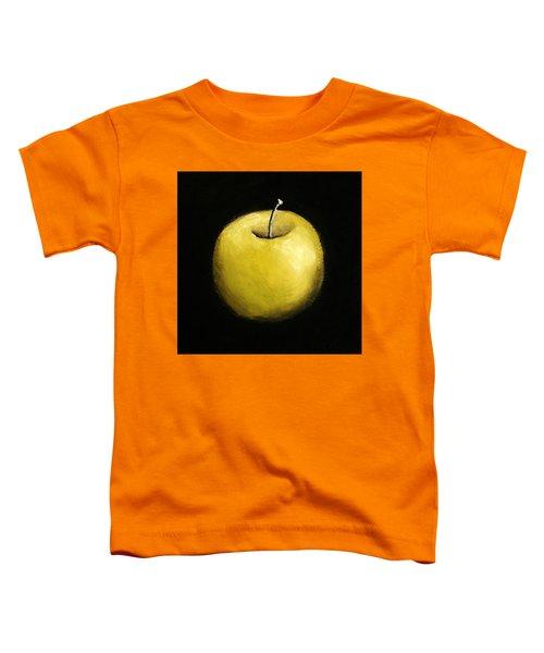 Green Apple Still Life 2.0 Toddler T-Shirt by Michelle Calkins