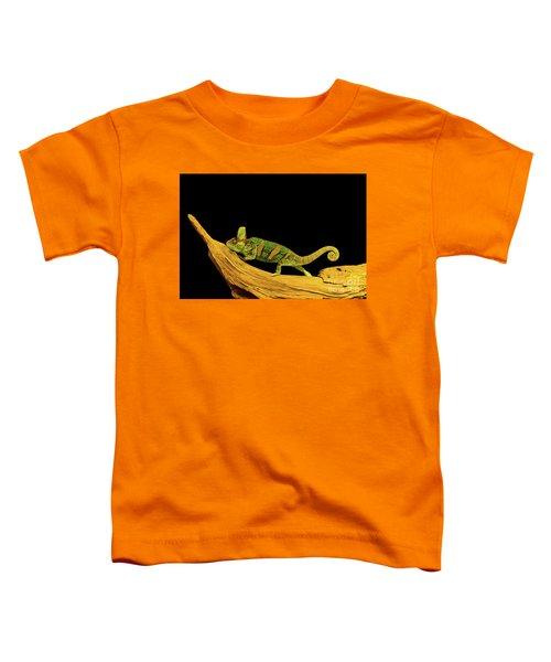 Green Chameleon Toddler T-Shirt