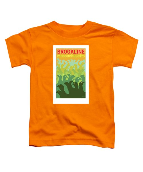 Green Fields Of Brookline Toddler T-Shirt