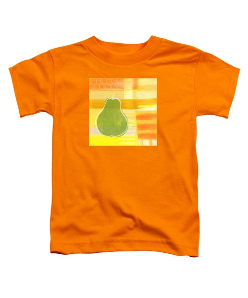 Green Pear- Art By Linda Woods Toddler T-Shirt