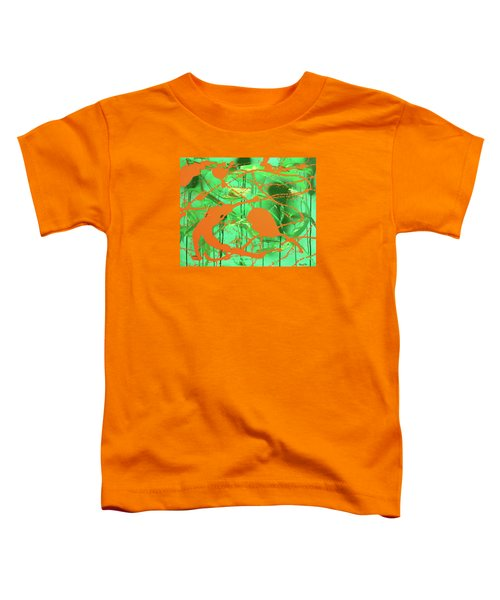 Green Spill Toddler T-Shirt