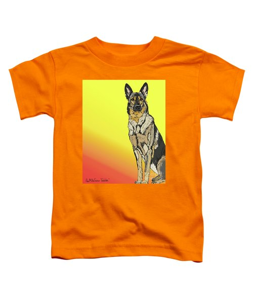 Gretchen In Digital Toddler T-Shirt