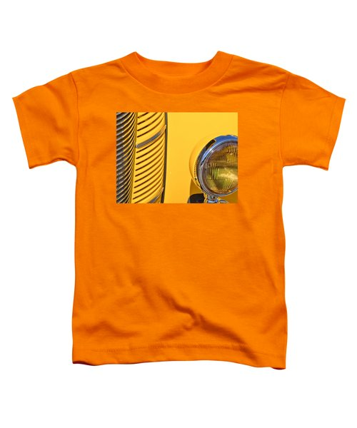 Grilled Chrome To Yellow Toddler T-Shirt