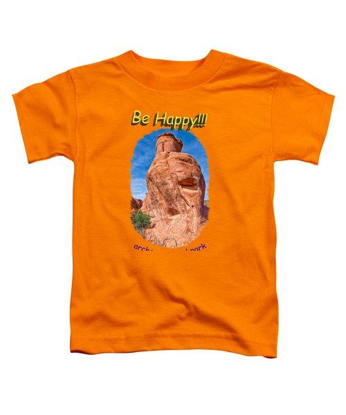 Happy Rock Toddler T-Shirt