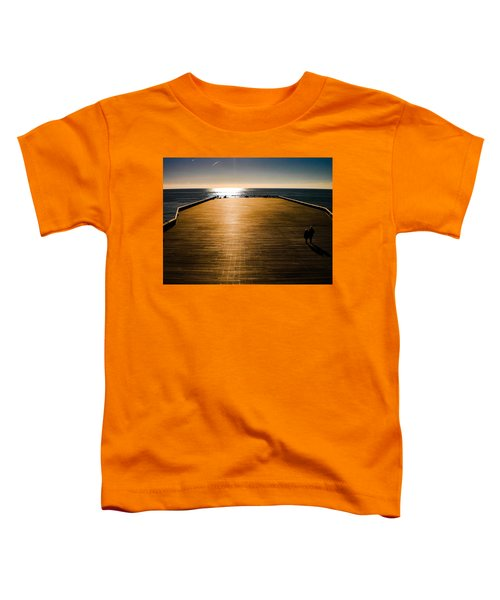 Hastings Pier, Hastings, Sussex, England Toddler T-Shirt