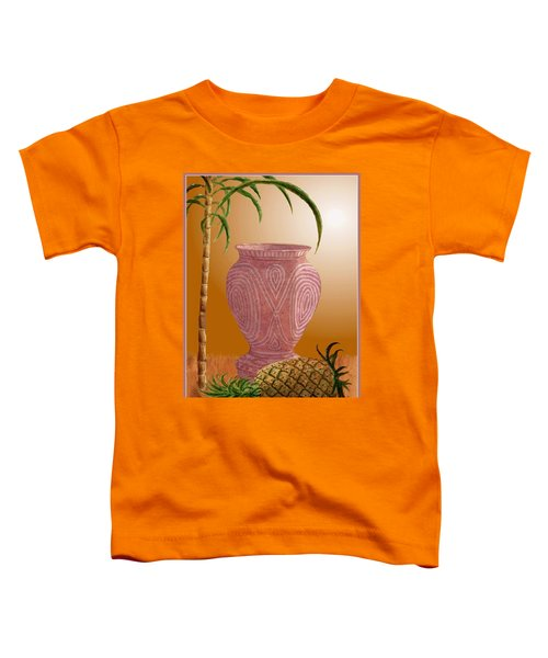 Hawaiian Pineapple Toddler T-Shirt